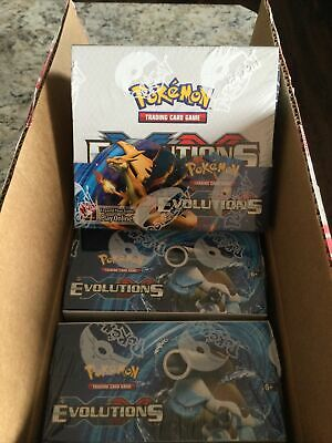$900 • Buy XY Evolutions Booster Box Factory Sealed POKEMON TCG - 36 Booster Packs