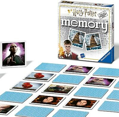 £6.99 • Buy Harry Potter Memory Family Traditional Board Games Kids Childrens Gift Toys UK