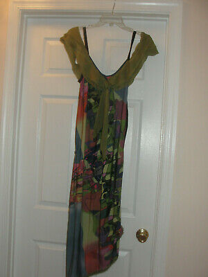 AU79.87 • Buy Woman SAVE THE QUEEN Italy Sleeveless Dress Size L
