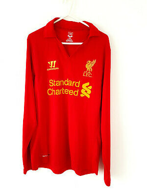 £24.99 • Buy Liverpool Home Shirt 2012. Small Adults. Official Warrior Red Long Sleeved Top S