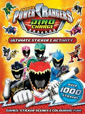 £4.99 • Buy Power Rangers Dino Charge: Ultimate Sticker & Activity (Paperback) New Book
