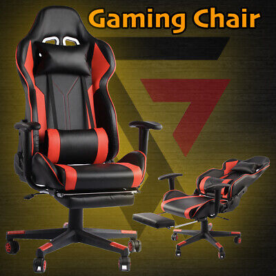 AU149.95 • Buy Premium Gaming Chair Office Seating Racing Computer PU Leather Executive Racer F