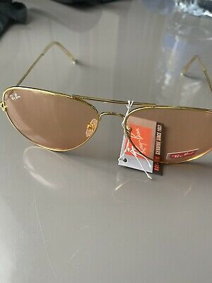£55 • Buy Ray-Ban Aviator RB3026 62/14 146 Used Condition