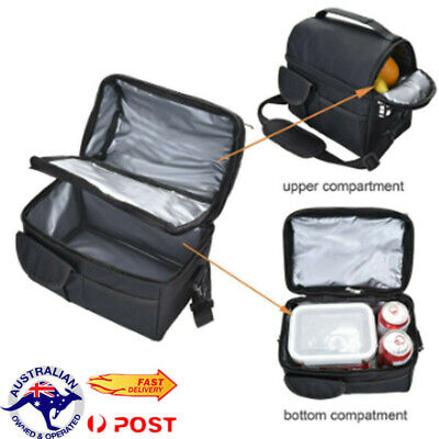 AU17.57 • Buy Lunch Box Insulated Lunch Bag Large Cooler Tote Bag For Men Women Deck Cooler AU