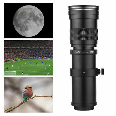 £119.99 • Buy CANON EOS Digital Fit 420 800mm SUPER PRO TELEPHOTO ZOOM Lens For Any EOS Body
