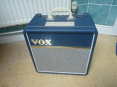 £255 • Buy VOX  AC4C1 Tube Guitar Amplifier. Limited Edition 1963 Blue Vinyl + New Cover