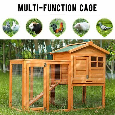 £139.99 • Buy Rabbit Hutch Guinea Pig Hutches Run Large 2 Tier Double Decker Cage
