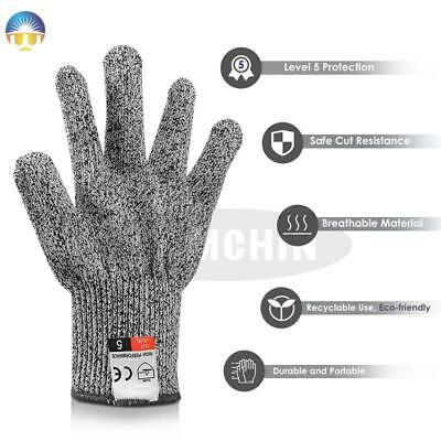 £5.46 • Buy High-strength Cut Wood Carving Protection Kitchen Gloves Cutting Safety Gloves