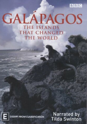 £3 • Buy Galapagos The Islands That Changed The World DVD (BBC 2006) 2 Disc Set