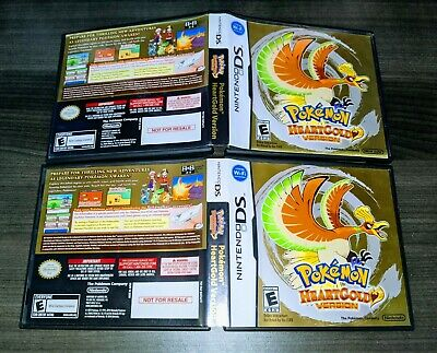 $39.95 • Buy Pokemon Heartgold {{ Authentic Case Only }} - Nintendo DS DSI 2DS 3DS