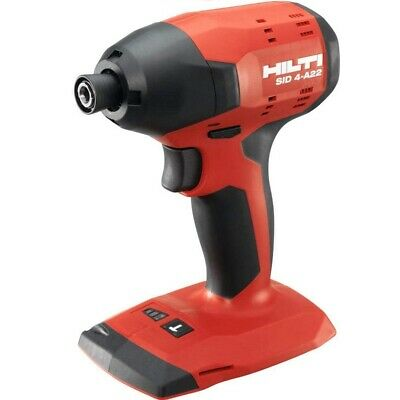 £134 • Buy Hilti Sid 4-a22 New Condition Cordless Impact Drill Driver, Bare Tool