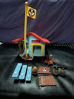 £21.87 • Buy VTG Hasbro Weebles Mickey Mouse Club Pluto Karen Billy Figure Chair Bench 1976