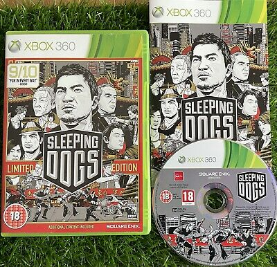£2.85 • Buy XBOX 360 SLEEPING DOGS LIMITED EDITION 2011 Game - Good Condition - FREE POSTAGE