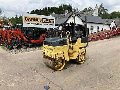 £4500 • Buy  * BOMAG BW80 Twin Drum Vibrating Roller