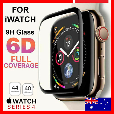 AU3.45 • Buy For Apple Watch IWatch Series 6 5 4 3 40 /44mm Tempered Glass Screen Protector