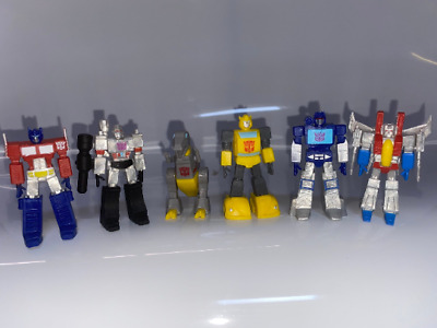 £14.99 • Buy Transformers Set Of 6 Plastic Cake Toppers  BRAND NEW FREE P+P