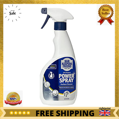£3.89 • Buy Bar Keepers Friend Power Spray Surface Cleaner & Removes Limescale 500ml