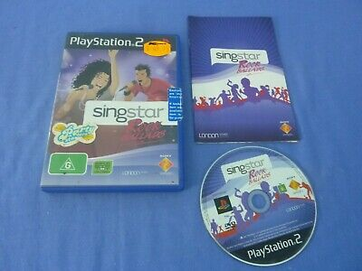 £5.50 • Buy Singstar Rock Ballads PS2 Tested Working Complete + Manual Free Postage