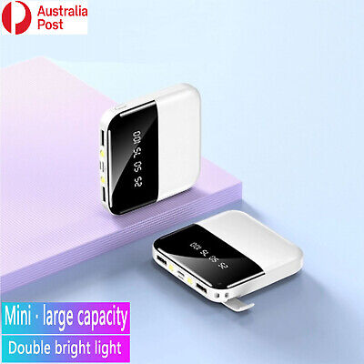 AU24.99 • Buy 10000mAh Power Bank Micro Type C Portable Dual USB For Cell Phone,Laptop,Tablet