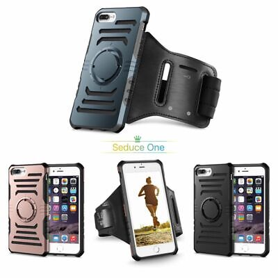 £6.95 • Buy For IPhone 6Plus Sports Running Jogging Gym Detachable Armband Case &Glass Cover