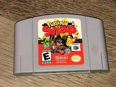 $32.99 • Buy Pokemon Snap Nintendo 64 N64 Cleaned & Tested Authentic