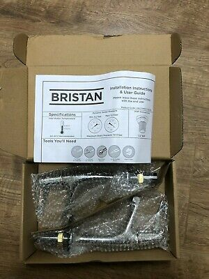 £19.99 • Buy Bristan VAL2 1/2 C CD Lever Basin Taps With With 3  (76mm) Levers Chrome *BNIB*