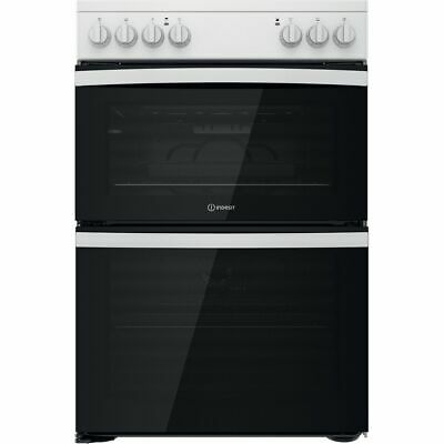 £389 • Buy Indesit ID67V9KMW/UK Free Standing A/A Electric Cooker With Ceramic Hob 60cm