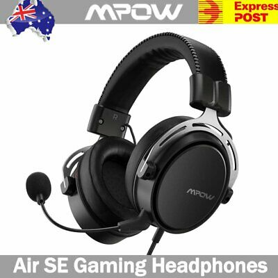 AU40.99 • Buy Mpow Air SE Gaming Headset PC Laptop LED Gaming Headphones For Mac PS4 Xbox AU