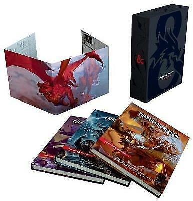 AU204.55 • Buy Dungeons And Dragons 5Th Edition Gift Set By Wizards Rpg Team (Hardback)
