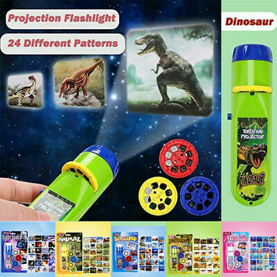 £6.99 • Buy Mini Projector Flashlight Torch Educational Light-up Toys For Kids Children Gift