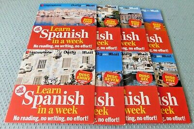 £12 • Buy Daily Mail Promo Linguaphone All Talk Learn Spanish In A Week Audio Course 8 CDs