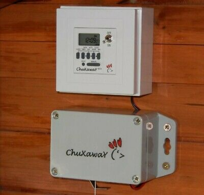 £85 • Buy Chuxaway SCX Automatic Chicken Door Opener With Timer - Free Postage