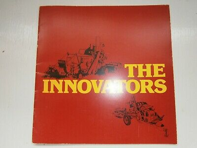 £25 • Buy Sperry New Holland THE INNOVATORS Company History Booklet Brochure Combine Baler