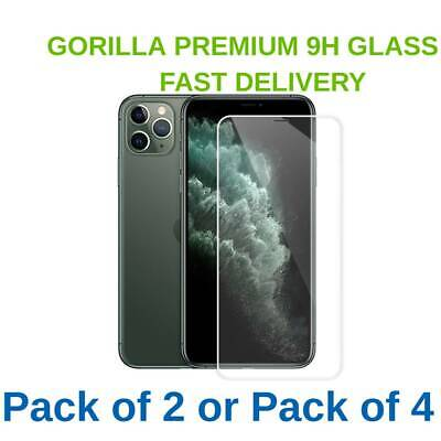 £3.95 • Buy Gorilla Tempered Glass Screen Protector For IPhone 11 12 PRO MAX XR XS SE 7 8 6