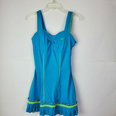 £51.61 • Buy Nike Tennis Dress Serena Williams Wore 2007 French Open, Color Turquoise Size M
