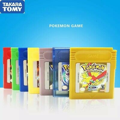 $14.99 • Buy ORIGINAL AUTHENTIC Pokemon Video GameBoy English/Spanish Gold Silver Any Series