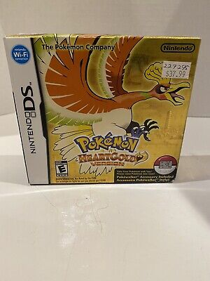 $78.76 • Buy Pokemon HeartGold Version DS Cardboard BOX ONLY -No Game Or Pokewalker Authentic