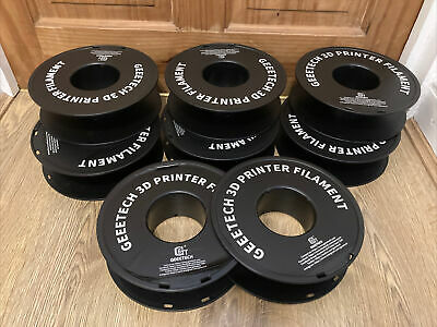 £12 • Buy 8x Empty 3D Printing Filament Reels Spools For Storage Approx 6cm Thick