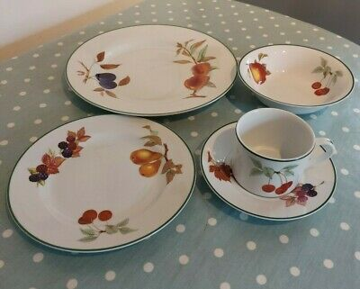 £5 • Buy Royal Worcester Evesham Vale Replacement Items