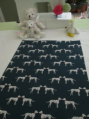 £1.99 • Buy BN Absolutely Gorgeous Sophie Allport Fabric Remnant In Dotty Dalmatian