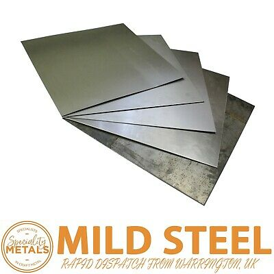 £2.98 • Buy MILD STEEL SHEET PLATE SQUARE METAL PANEL 0.8 To 5mm THICK SHEET CUT TO SIZE