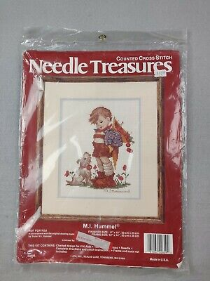 £4.39 • Buy Needle Treasures Not For You Hummel Boy Dog Counted Cross Stitch Kit #02609 NOS