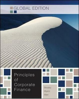 £3.95 • Buy Principles Of Corporate Finance By Richard A Brealey (Paperback) Amazing Value