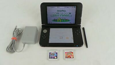 $249.99 • Buy Nintendo 3ds Xl Limited Edition Pokemon X And Y Console Bundle Charger & 2 Games