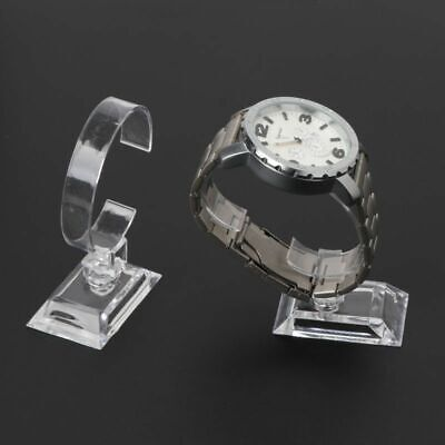 £5.34 • Buy 1pc Clear Acrylic Watch Displays Bracelet Holder Stand Rack Jewelry Holder Displ