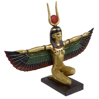 £19.95 • Buy Kneeling Isis Figure With Wings Outstretched  - Ancient Egypt Egyptian Gift