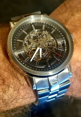 £25 • Buy Kenneth Cole Mens Automatic Watch - 21 Jewels Skeleton Model 10011576