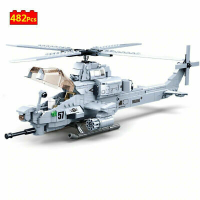 £21.75 • Buy AH-1Z Viper Helicopter US Air Force Custom Army Building Blocks Modern Military