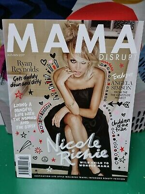 £5.27 • Buy Mama Disrupt Magazine - Issue 2. Cover Nicole Richie. BRAND NEW. FREE TRACKING