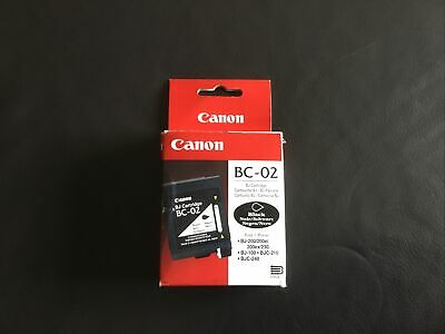 £10 • Buy Canon BC-02 Black Ink. New And Sealed